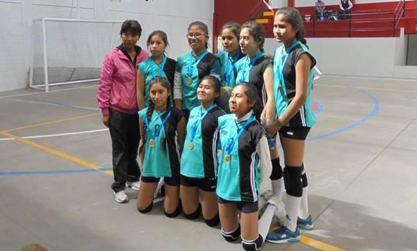 Campeonas Ugel Arequipa Sur en Vóley