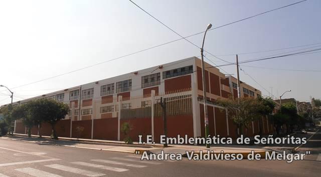 Emblemática I.E. de Señoritas Andrea Valdivieso de Melgar