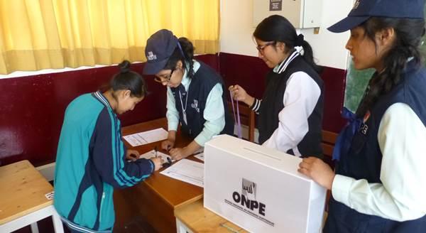 Elección de Municipios Escolares 2017