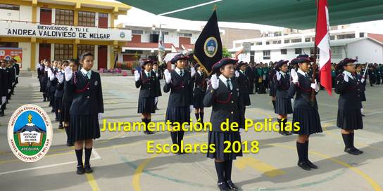 Juramentación de Policías Escolares 2018