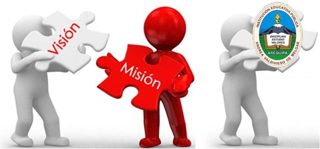 Vision y Mision de la IE Andrea Valdivieso