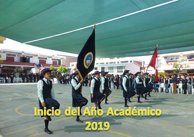 Inicio del año academico 2019