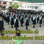 Juramentacion de policias escolares 2019 Andrea Valdivieso de Melgar