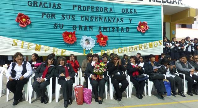 despedida a la Profesora Orsa Vargas