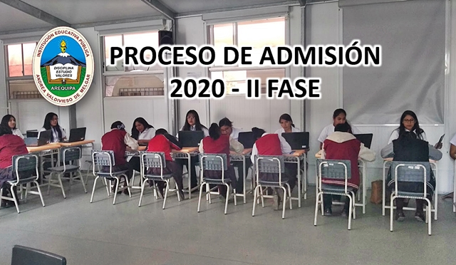 admision 2020 ii fase